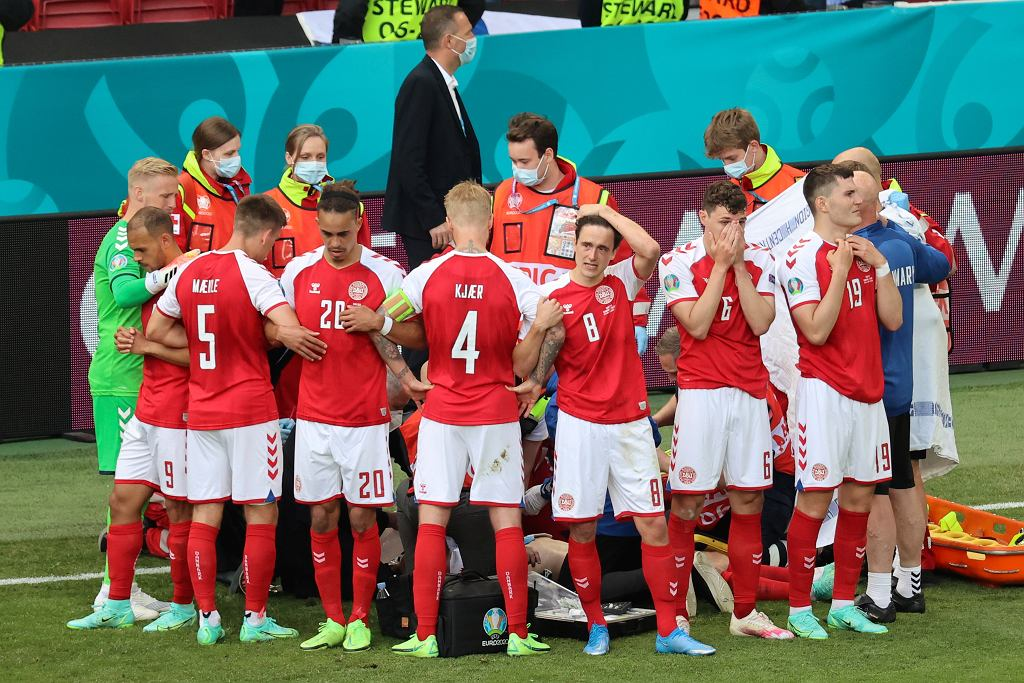 Dania - Finlandia, Euro 2020