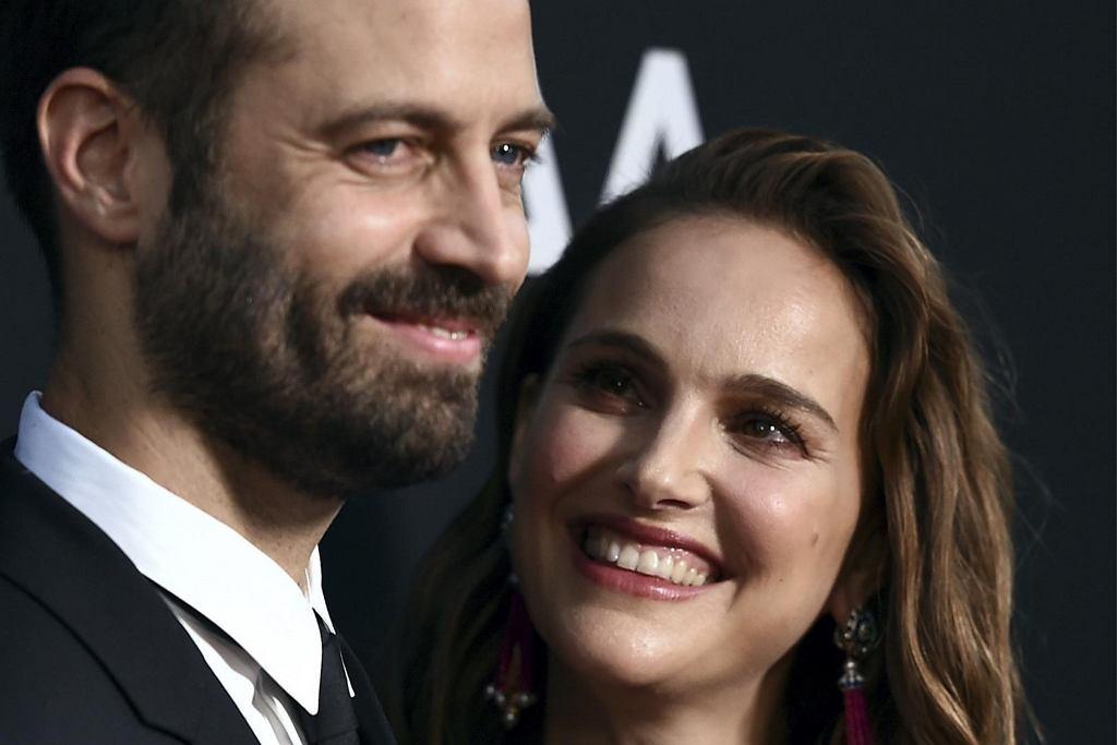 Natalie Portman z mężem