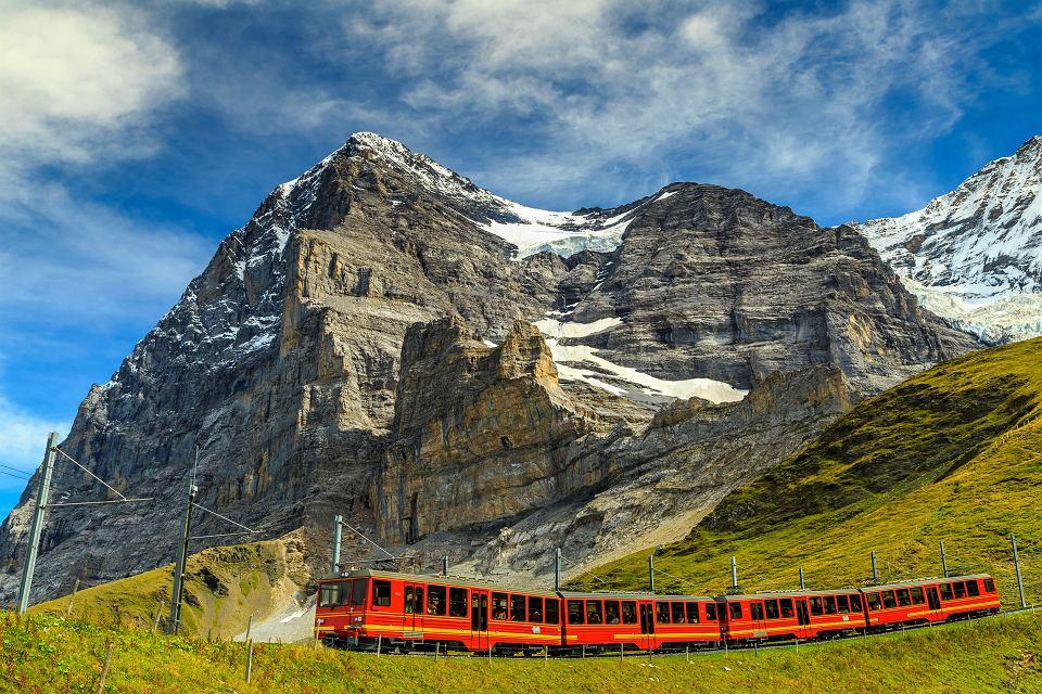 Pociągiem przez Szwajcarię