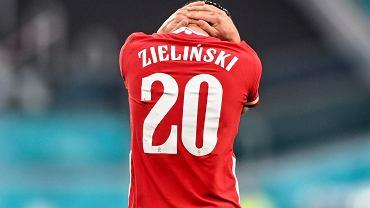 Zastanawiająca statystyka Piotra Zielińskiego. Najgorsze dośrodkowania na Euro 2020