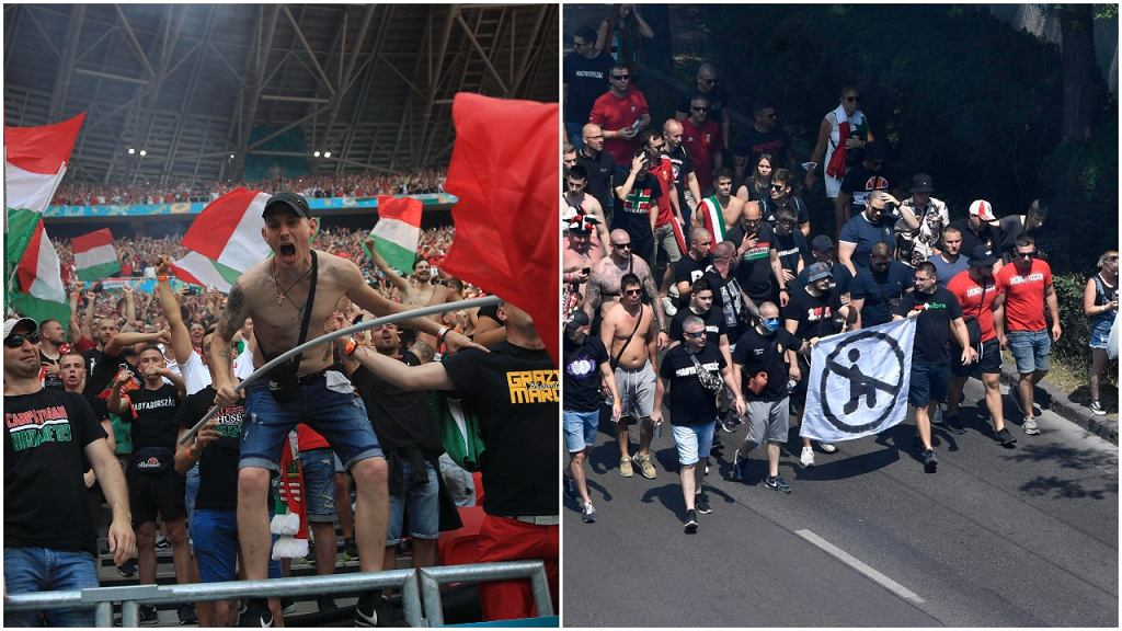 Węgierscy kibice na Euro 2020