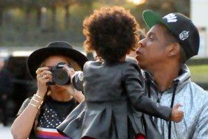 Beyonce, Blue Ivy i Jay Z