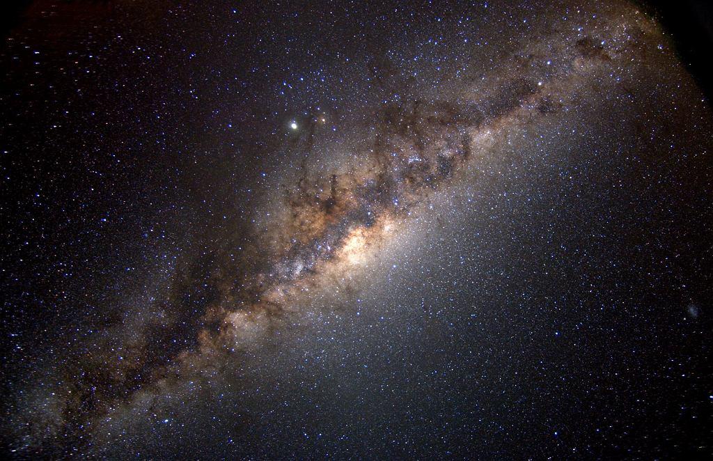 Droga Mleczna widziana z Ziemi