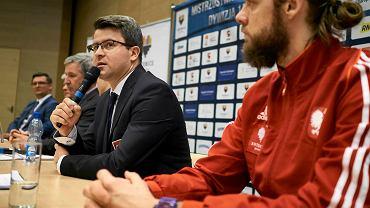 Dawid Chwałka, prezes Polskiego Związku Hokeja na Lodzie