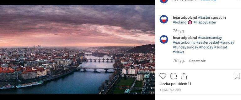 PFN zleciła firmie z USA promowanie kraju. Korzystali ze zdjęć Pragi