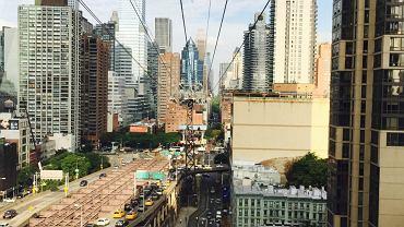 Pierwszy widok na Manhattan (fot. instagram.com/annakonieczynska)