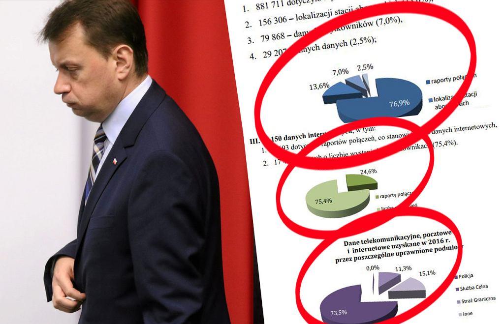Do Parlamentu wpłynął raport dotyczący zainteresowania służb danymi telekomunikacyjnymi Polaków