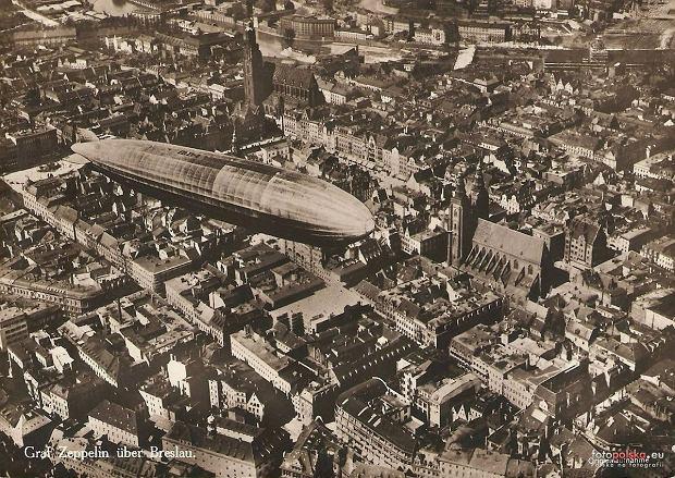 Zdjęcie numer 10 w galerii - Sterowce nad przedwojennym Wrocławiem. Te archiwalne zdjęcia robią wrażenie [GALERIA]