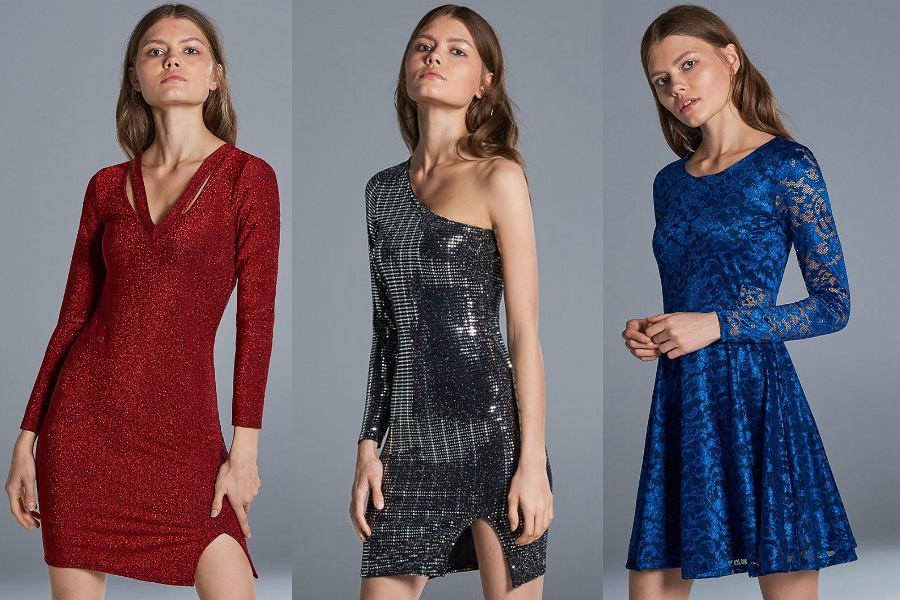 Sukienki Cropp będą idealne zarówno na święta, jak i sylwestrowy bal
