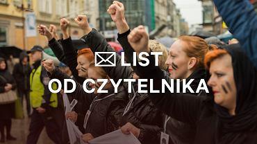 'Wspieram czarne marsze, ale zwątpiłam już, że coś dają' - pisze w liście czytelniczka Gazeta.pl