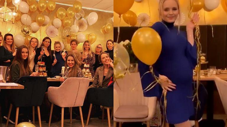 Olga Kalicka - baby shower