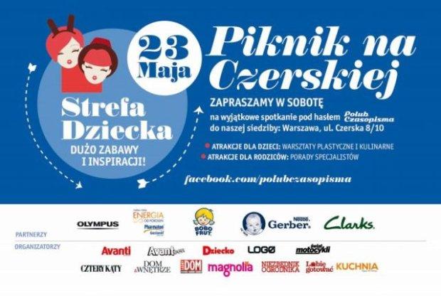 Piknik na Czerskiej - spotkajcie się z nami!