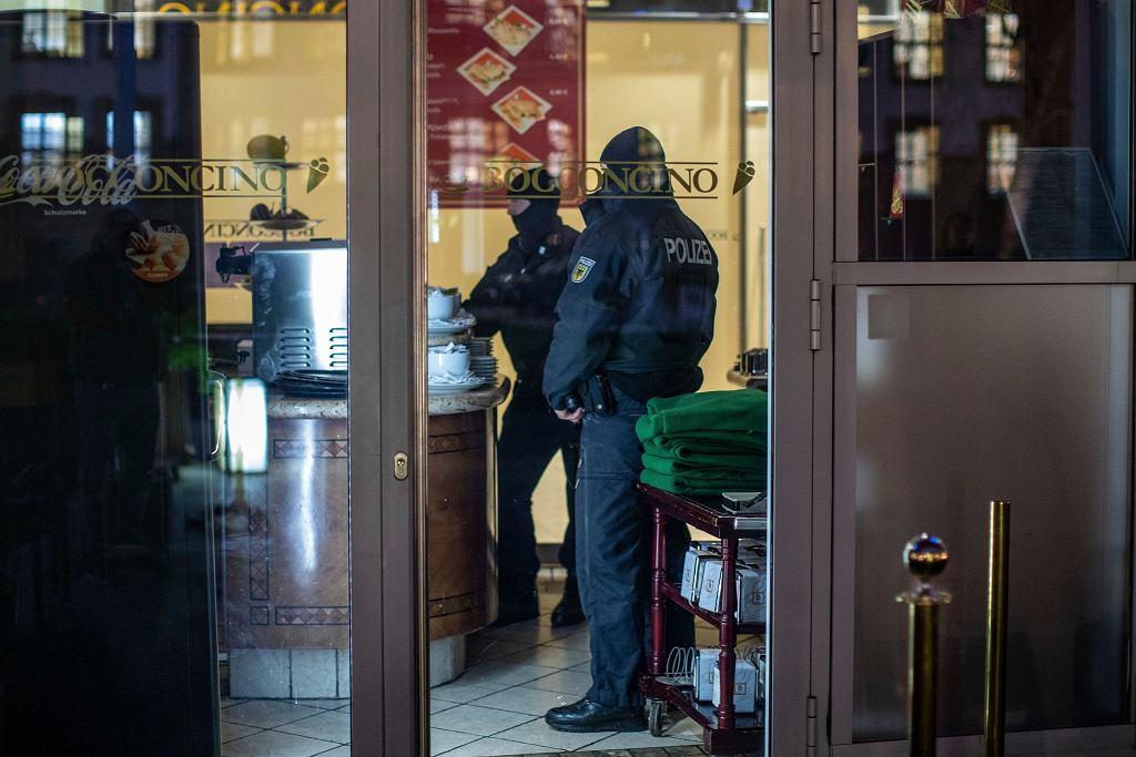 Akcja policji przeciwko kalabryjskiej mafii