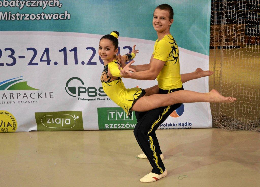 Wanesa Sakowska i Aleksander Szczerbaty