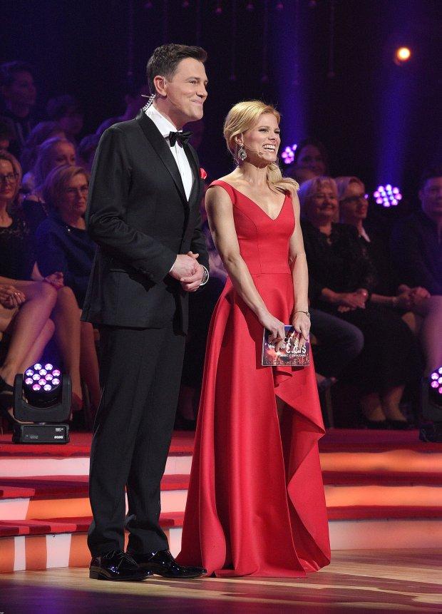 Krzysztof Ibisz i Anna Głogowska