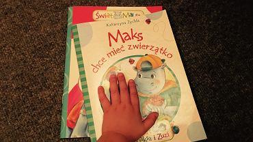 Maks i jego przyjaciele towarzyszą nam głównie wieczorami, ale i w ciągu dnia dzieci chętnie sięgają po książeczki.