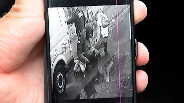 Lubin. Śmierć młodego mężczyzny po interwencji policji. Na monitoringu widać, jak policjanci na nim klęczą