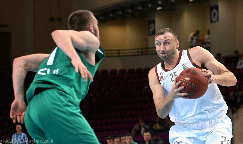 Najwięcej punktów (22) w Radomiu rzucił Adam Linowski