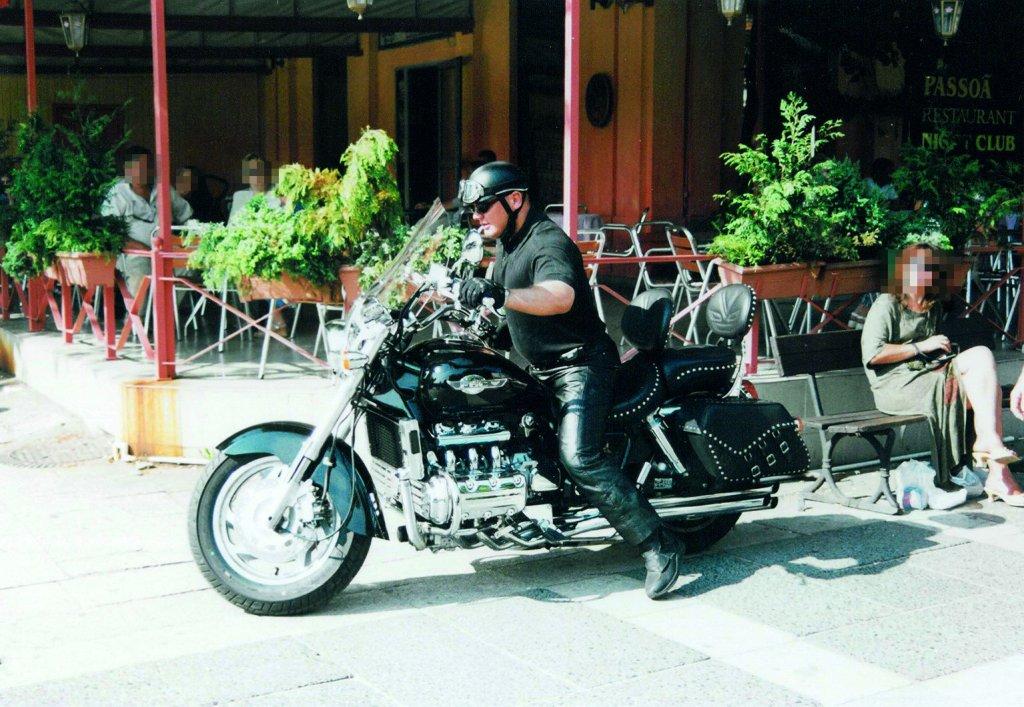 Z motocyklem Valkiria (fot. archiwum prywatne)