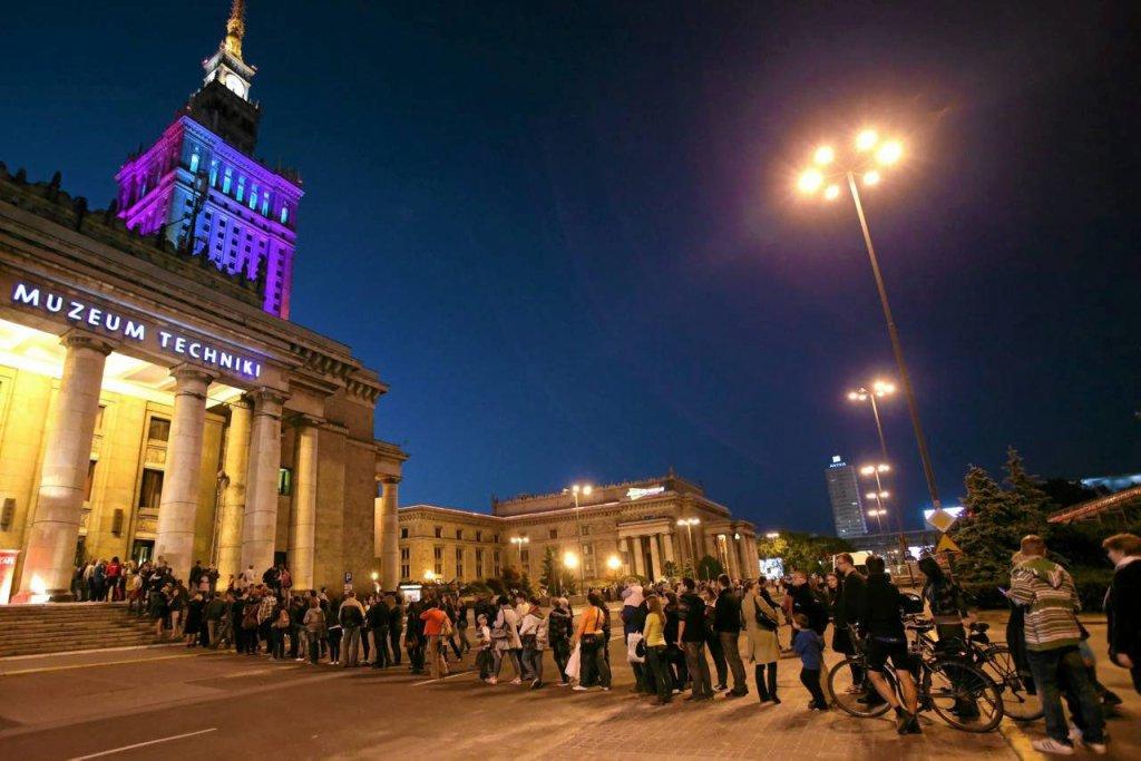 Noc Muzeów w Warszawie