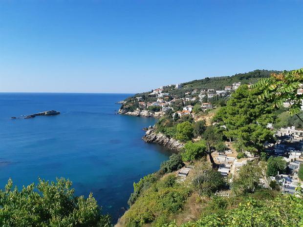 Czarnogóra. Fragment wybrzeża między Barem i Ulcinjem