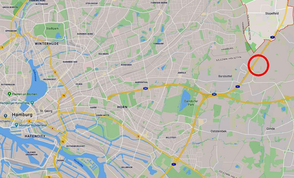 Do wypadku polskiego autokaru doszło na A1 pod Hamburgiem, między Stapelfeld a Barsbüttel