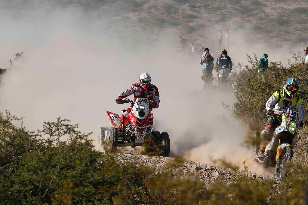 Rafał Sonik na 3. etapie Rajdu Dakar