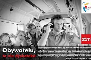 """""""Muzyka z komórki: W autobusie nie chcę jej słyszeć"""""""