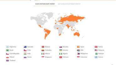 W tych krajach świata działa firma International Coupons