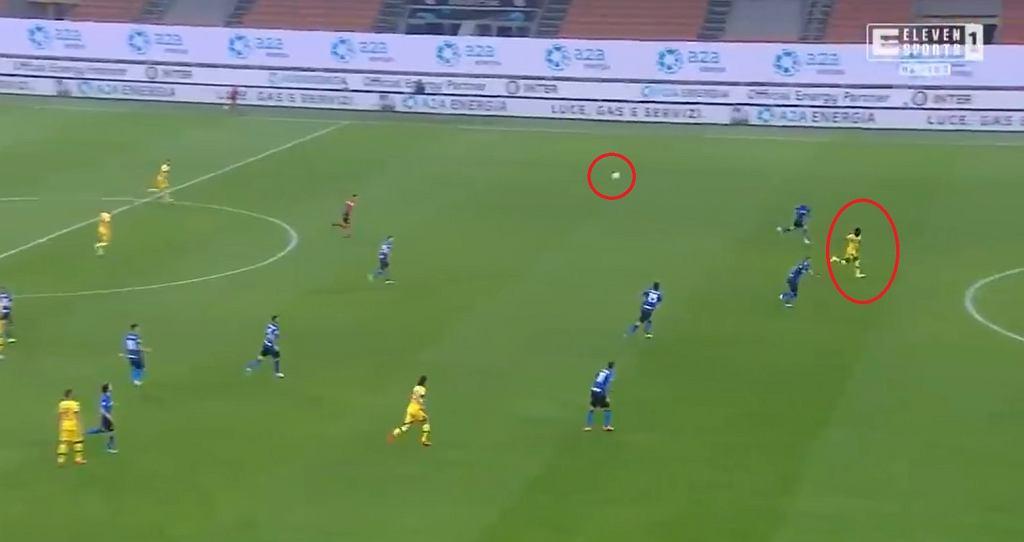 Piękny gol w Serie A