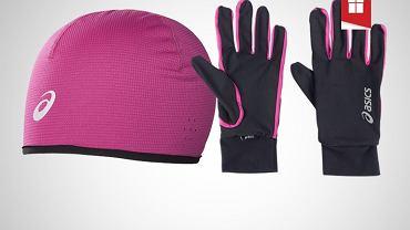 Zestaw czapka i rękawiczki Asics
