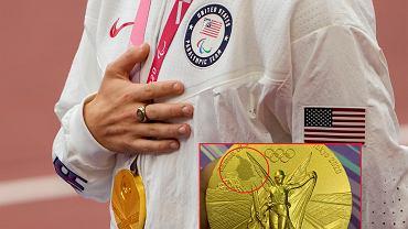 Wadliwy złoty medal olimpijski