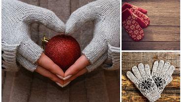 Ciepłe rękawiczki zimowe
