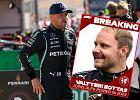 Duże zmiany w Formule 1 - Valtteri Bottas odchodzi z Mercedesa. Będzie jeździł z Kubicą?