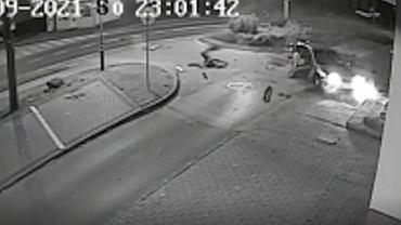 Nagranie z wypadku w Annopolu