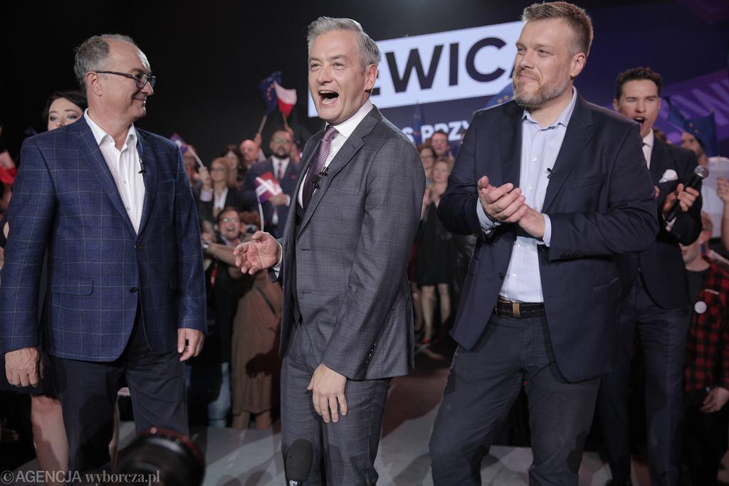 Lewica - wieczór wyborczy (zdjęcie ilustracyjne)