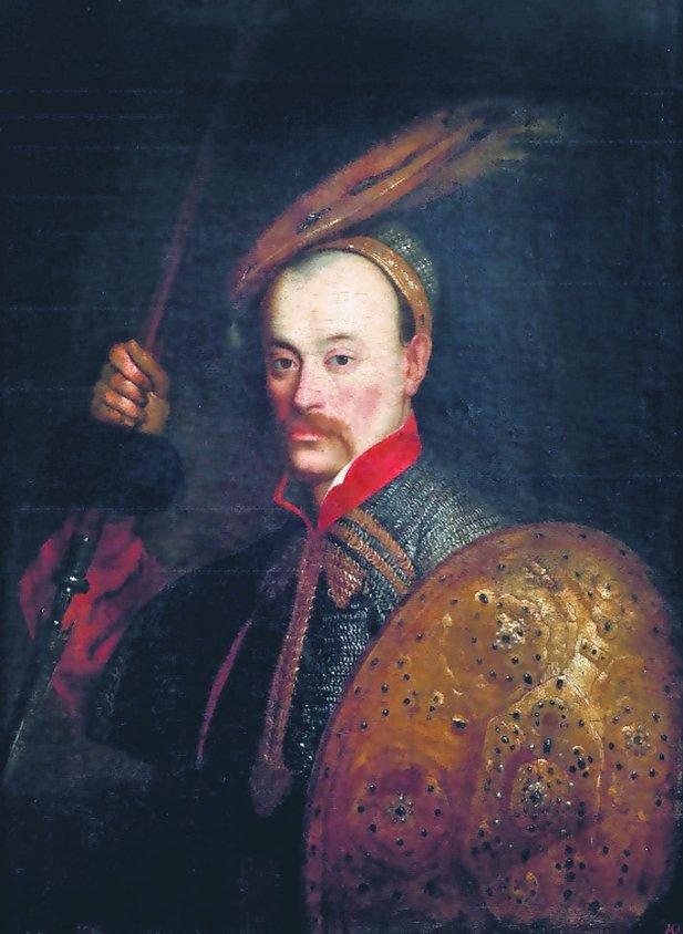 Hetman Wincenty Korwin Gosiewski (1620-62),jeden z bardziej utalentowanych polskich wojskowych. To on wziął do niewoli księcia Bogusława Radziwiłła w opisywanej przez Sienkiewicza w 'Potopie' bitwie pod Prostkami (1656). Cztery ostatnie lata życia spędził w moskiewskiej niewoli, do której dostał się po przegranej bitwie pod Werkami. Wkrótce po uwolnieniu Jan Kazimierz wysłał go z misją dogadania się ze zbuntowanymi żołnierzami (Związkiem Święconym), co przypłacił życiem.