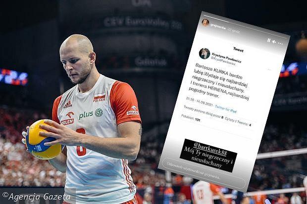 Anna Kurek odpowiada na wpis Krystyny Pawłowicz ws. jej męża Bartosza Kurka. Źródło: Instagram/ AG