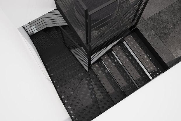 Schody metalowe Futura