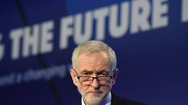 Jeremy Corbyn, lider brytyjskiej Partii Pracy
