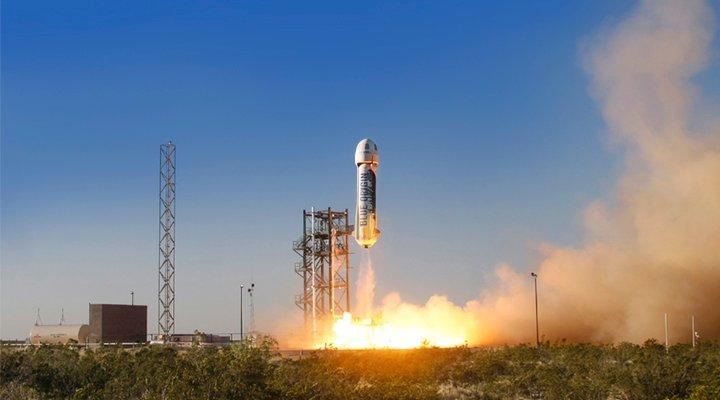 Start rakiety New Shepard