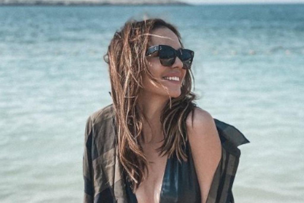 Anna Wendzikowska morsuje w skąpym bikini. 'Polecam spróbować'