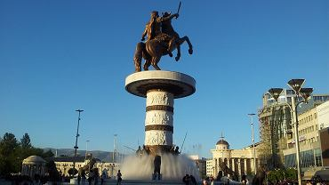 Pomnik Aleksandra Macedońskiego w Skopje