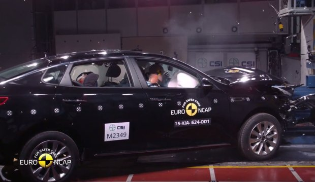 Kia Optima testy Euro NCAP