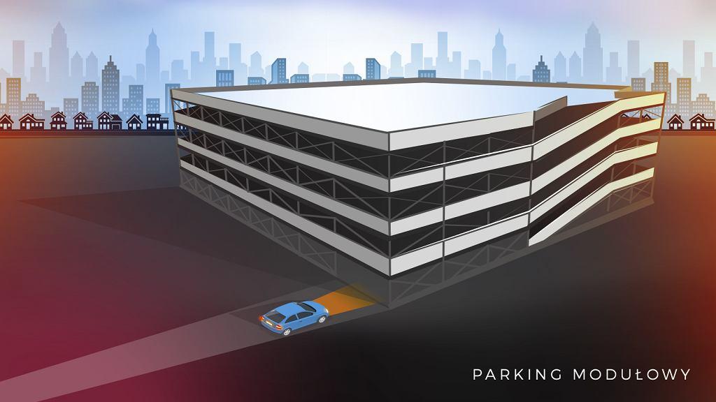 Parkingi modułowe Warszawa