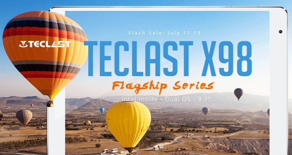 Teclast X98 w Gearbest