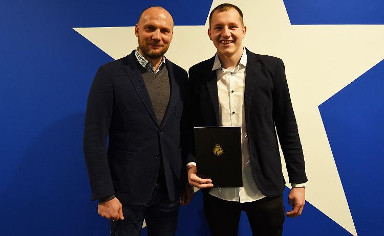 Tobiasz Weinzettel piłkarzem Wisły Kraków