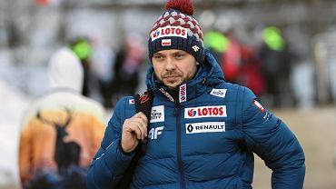 Skoki narciarskie. Michal Dolezal