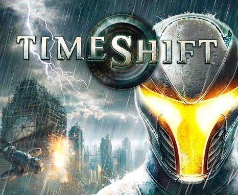 TimeShift - okładka