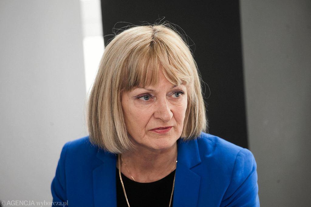 Ewa Szczęch, dyrektorka Wydziału Szkół Ponadpodstawowych i Specjalnych Urzędu Miejskiego we Wrocławiu